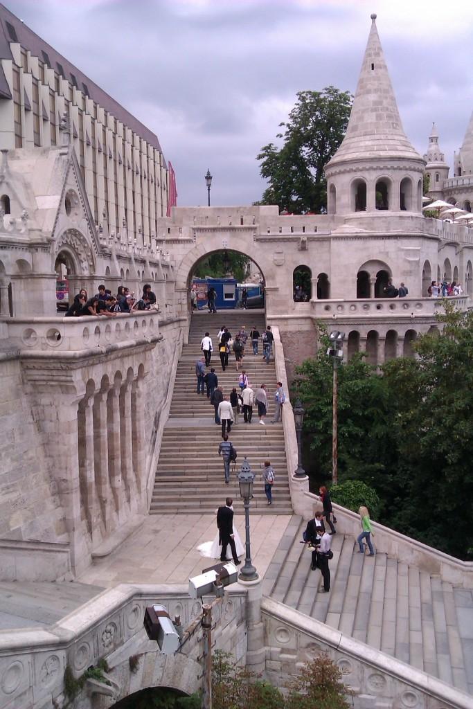 Bastión de los pescadores, Castillo de Buda, Budapest, Hungría, 2012