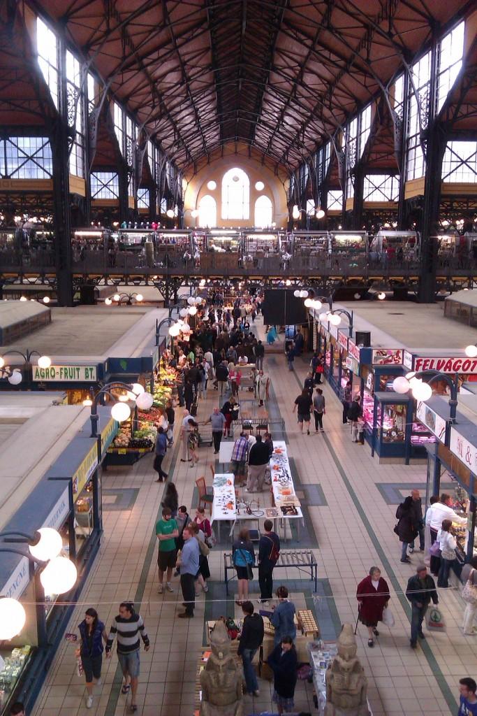 Mercado central de Budapest, Hungría, 2012