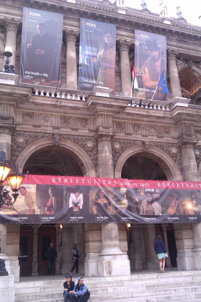 Ópera, Budapest, Hungría, 2012