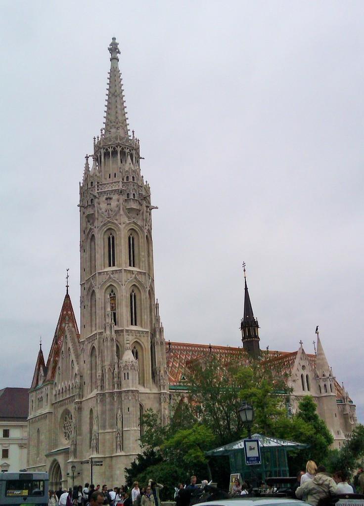 Iglesia San Matías, Budapest, Hungría, 2012