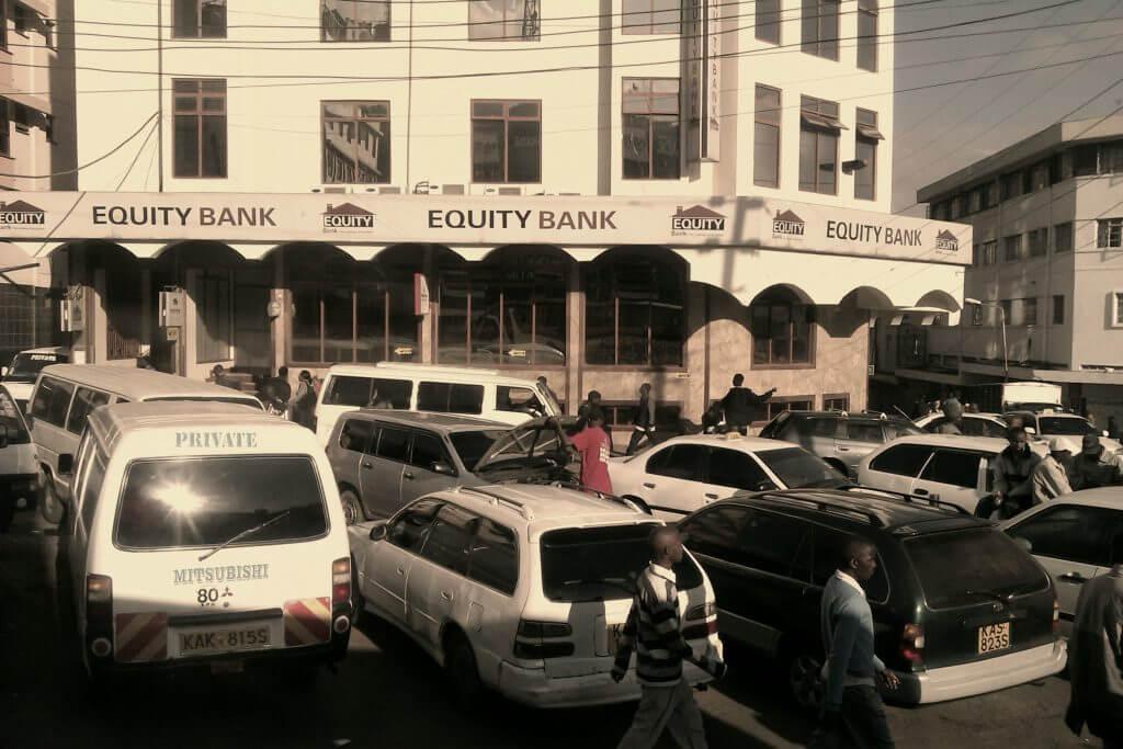 Estación de buses y combis, Nairobi, Kenia, África, 2012