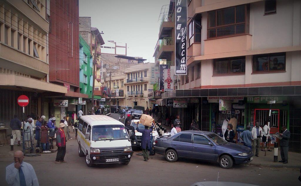 Esquina de Nairobi, Kenia, África, 2012