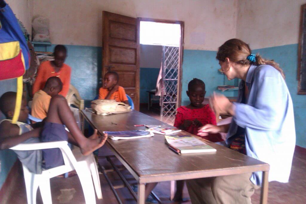 @rominitaviajera en el hogar de niños Lea Mwana, Malindi, Kenia, África, 2012
