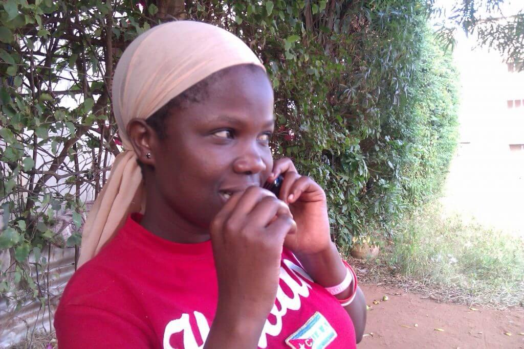 Judith, la hija de Mama Agnes, la niña que me vino a buscar a la estación de buses de Malindi, Kenia, África, 2012