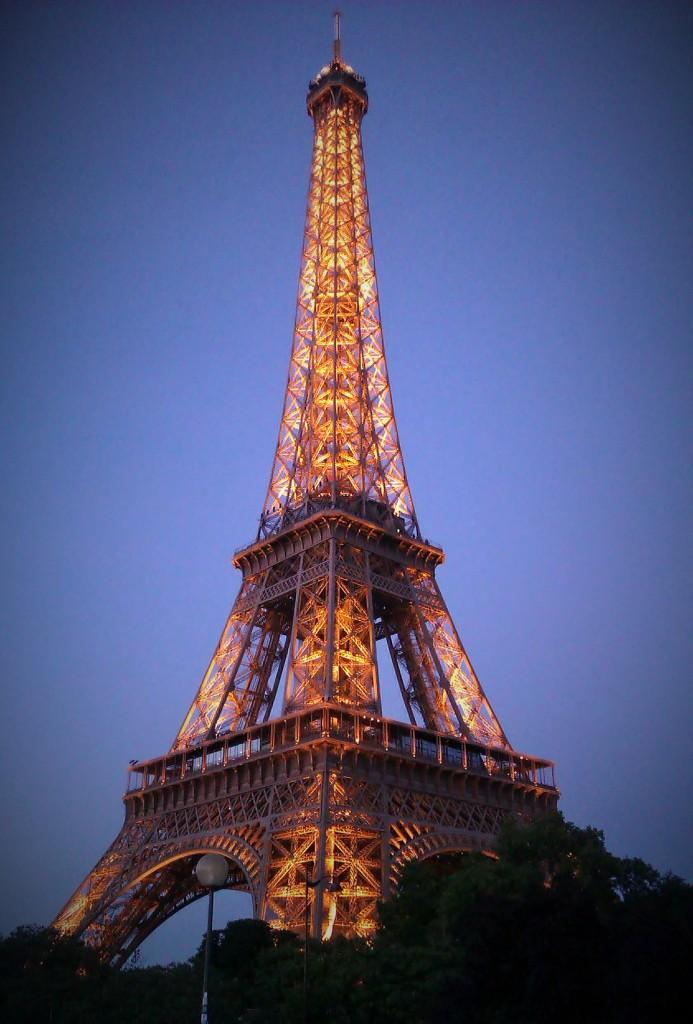 La Torre Eiffel, París, Francia, Junio 2013