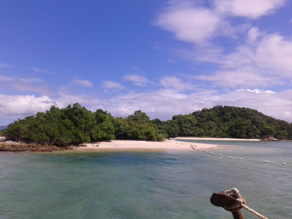 Islas de camino a Ilha Grande, Brasil, 2014