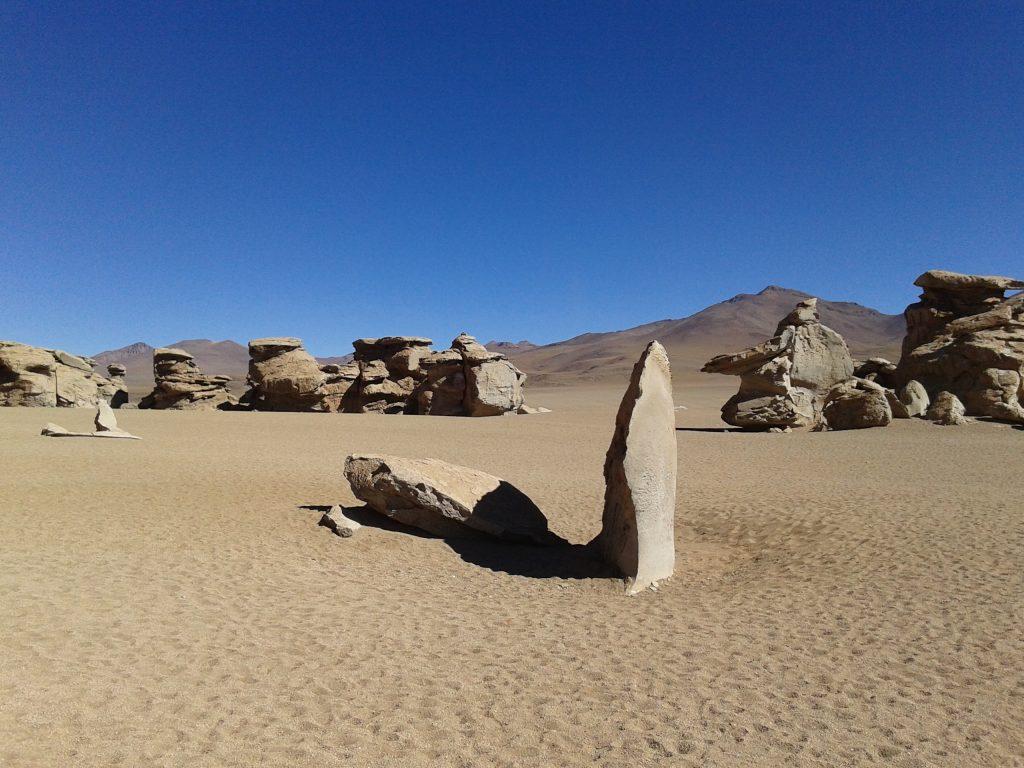 Desierto de rocas, Salar del Uyuni, Bolivia, 2014 | rominitaviajera.com