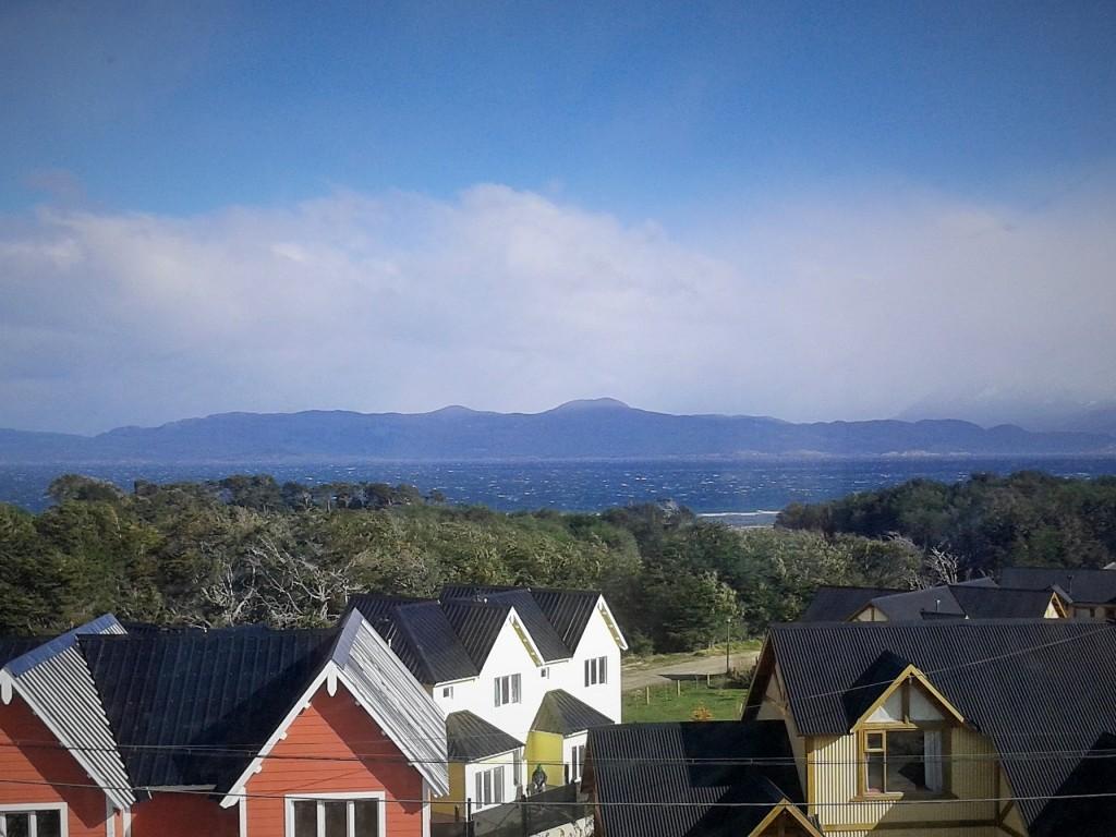 Vistas desde la Hostería Green House, Ushuaia, Tierra del Fuego, Argentina, noviembre 2014 - viajarcaminando.org