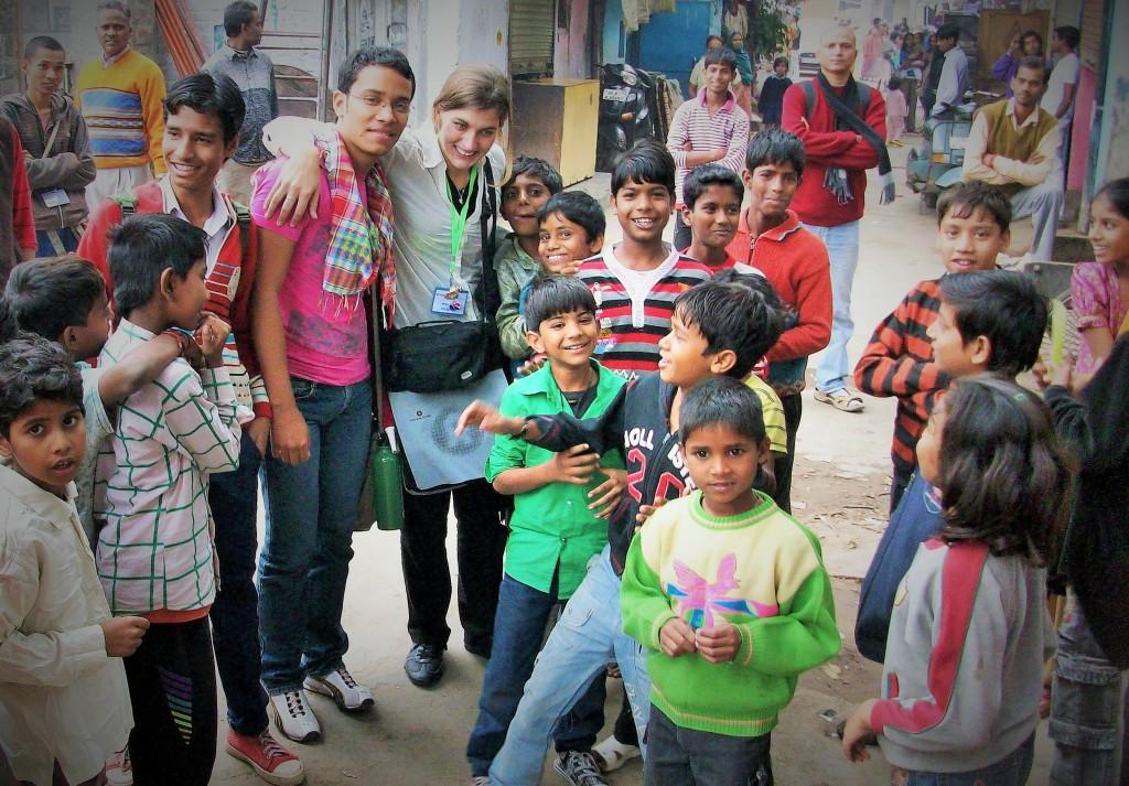 @rominitaviajera en Nueva Delhi, India, noviembre 2010 - viajarcaminando.org