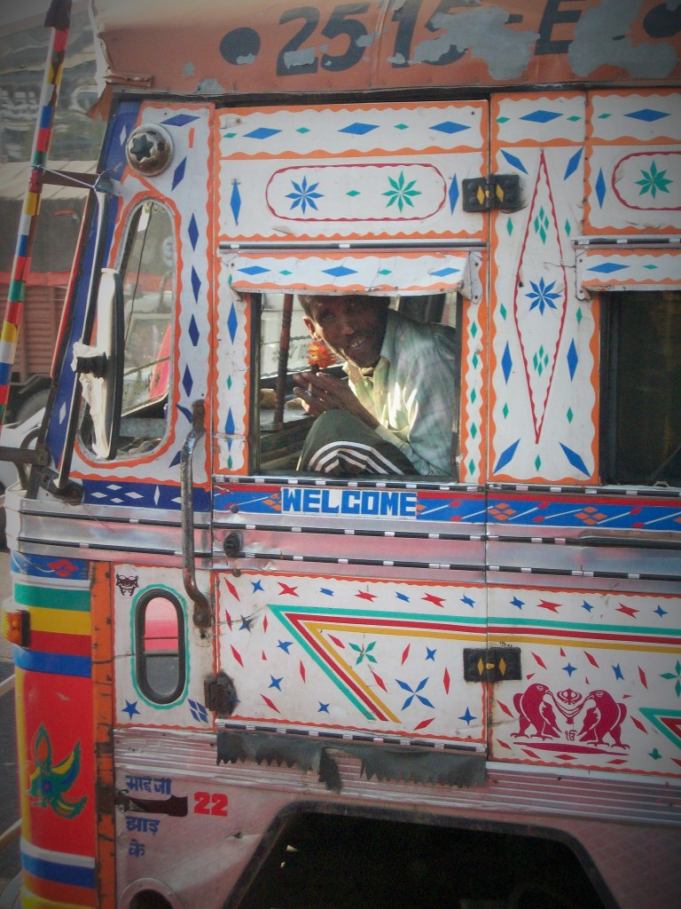 Conductor camión, Delhi