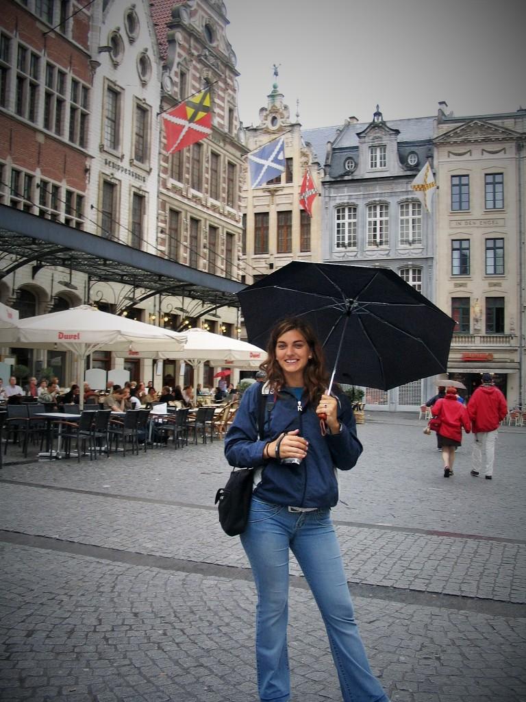 @rominitaviajera en Lovaina, Bélgica, Julio 2008 - viajarcaminando.org