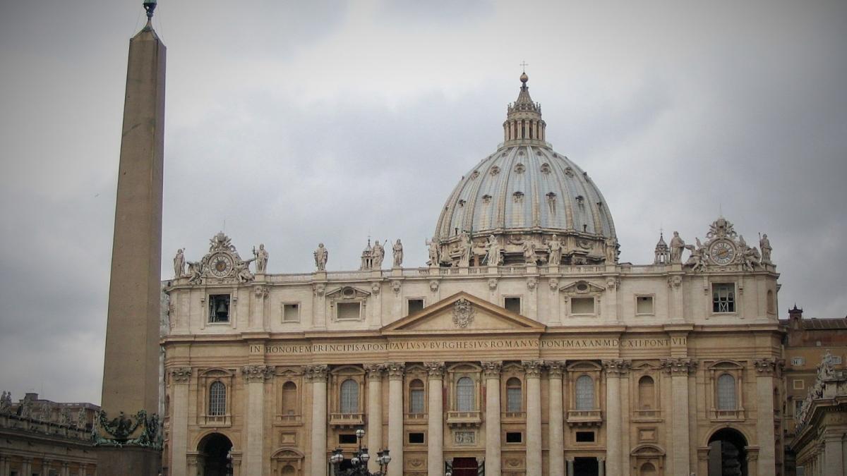 Basílica de San Pedro, Ciudad del Vaticano, Italia, Marzo 2008