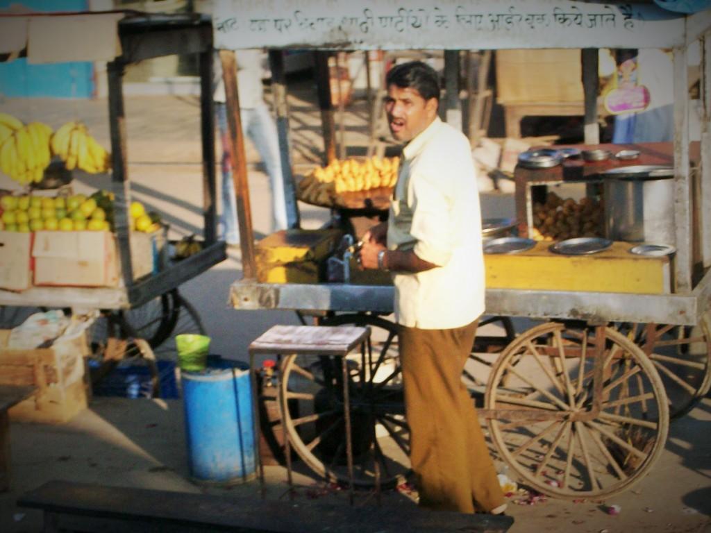 vendedor ambulante, Delhi
