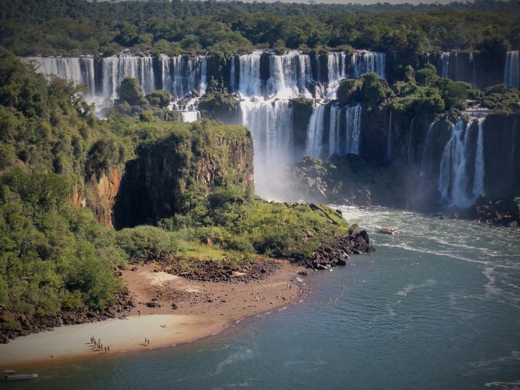 Cataratas del Iguazú, Misiones, Argentina, Marzo 2012 - viajarcaminando.org