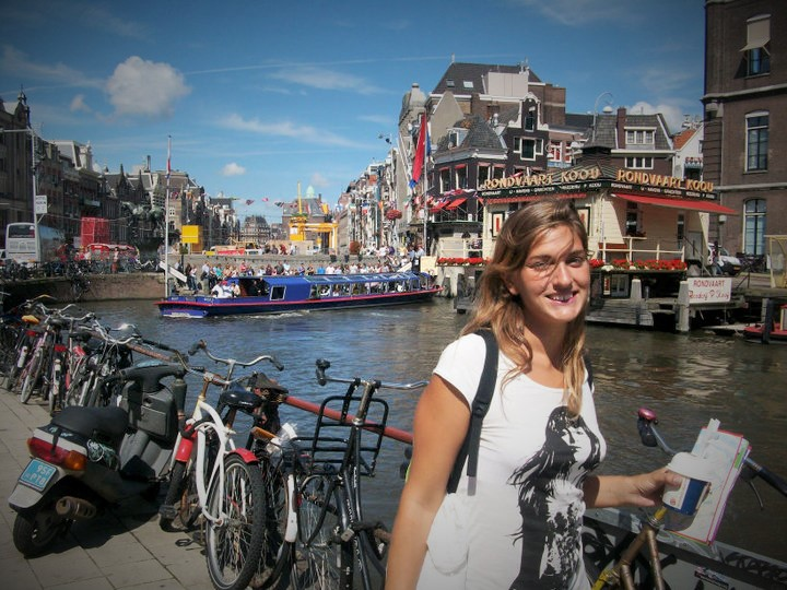 @rominitaviajera en Amsterdam, Países Bajos, Agosto 2010