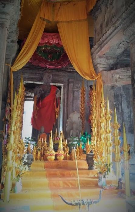 Buda en Angkor Wat, Camboya, Octubre 2015