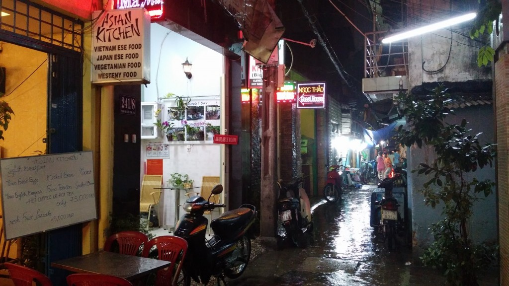 Callejón de Ho Chi Minh, Vietnam, viaje 2015