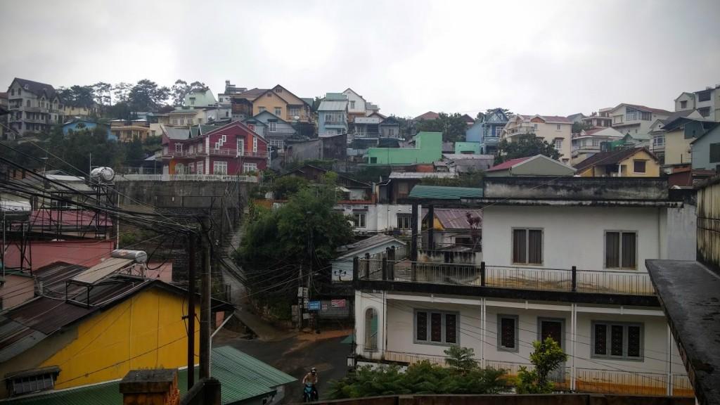 Centro de la ciudad, Dalat, Vietnam 2015