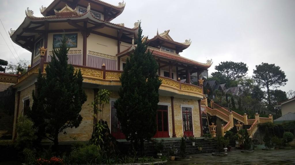 Pagoda, Dalat, Vietnam, 2015