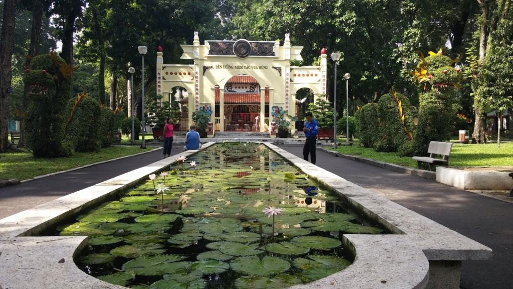 Parque Tao Dan, Ho Chi Minh, Vietnam, viaje 2015