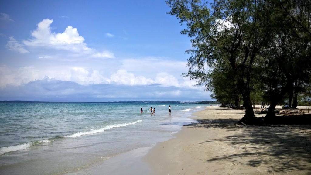 Playa Odres, Sihanoukville, Camboya, Octubre 2015