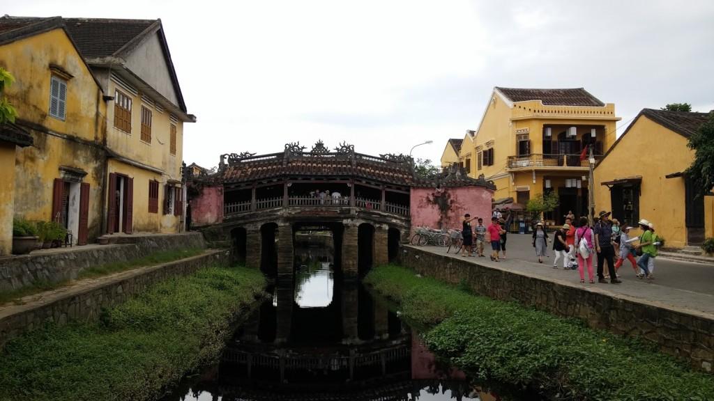 Puente japonés, Hoi An, Vietnam, 2015