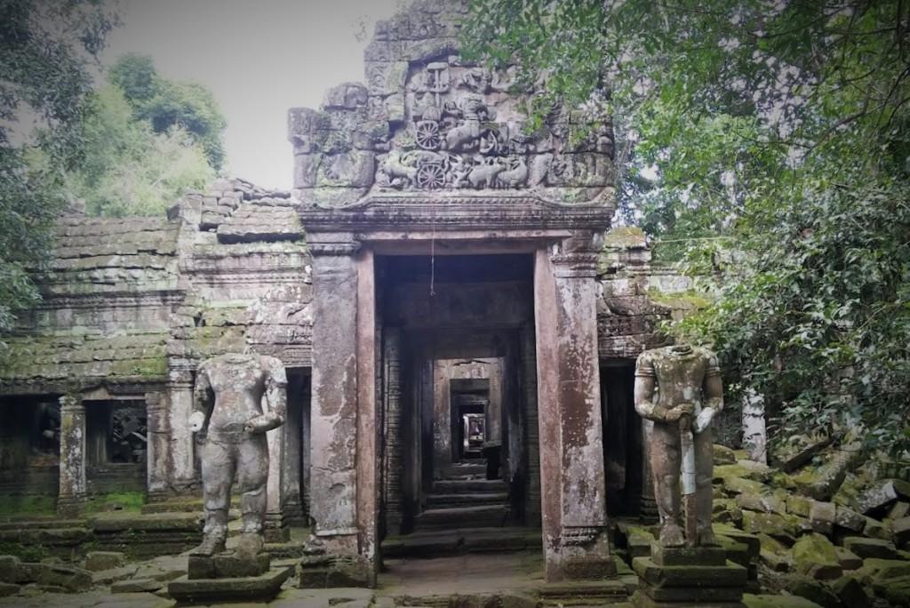 Templo Prah Khan, Camboya, Octubre 2015