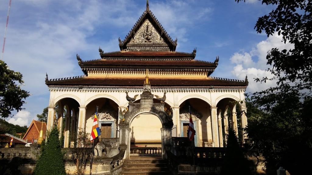 Wat Bo, Siem Reap, Camboya, Octubre 2015