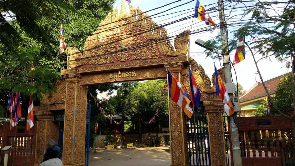 Wat Damnak y Khemer studies Siemp Reap, Camboya, Octubre 2015