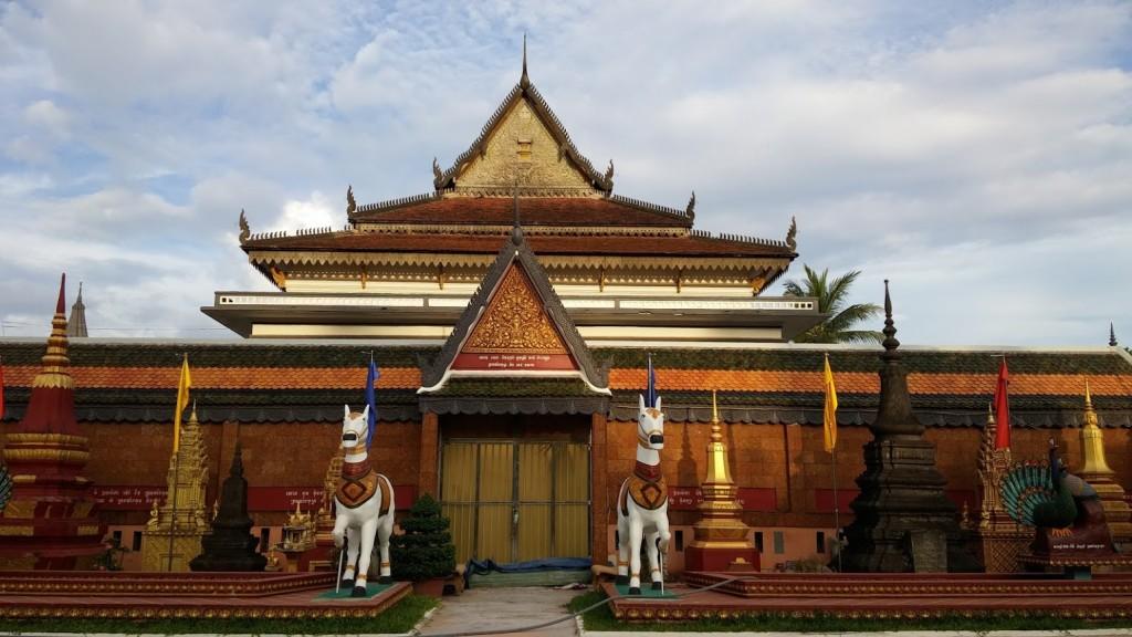 Wat Preah Promrath, Siem Reap, Camboya, Octubre 2015
