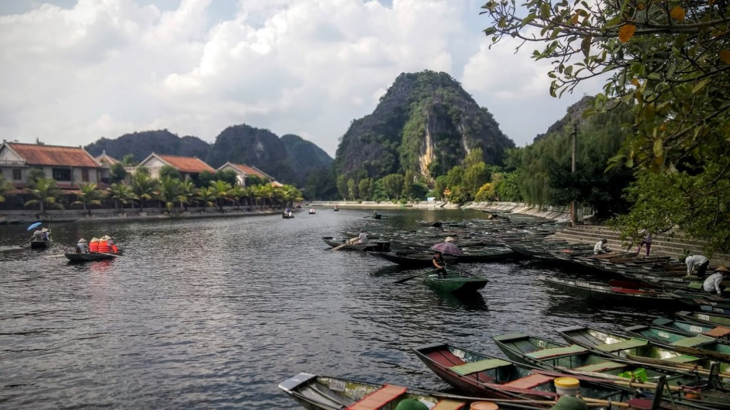 Embarcadero de Tam Coc, Ninh Binh, Vietnam, 2015