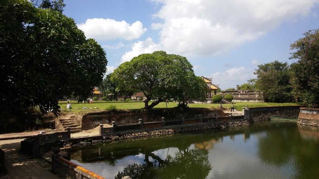 Jardines de la ciudadela, Hué, Vietnam, 2015