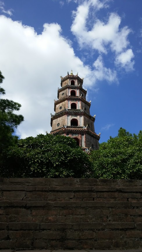 Pagoda Thien Mu, Hué, Vietnam, 2015