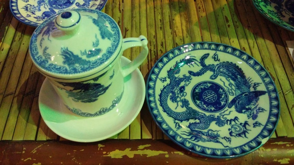 Porcelana tradicional, Hué, Vietnam, 2015