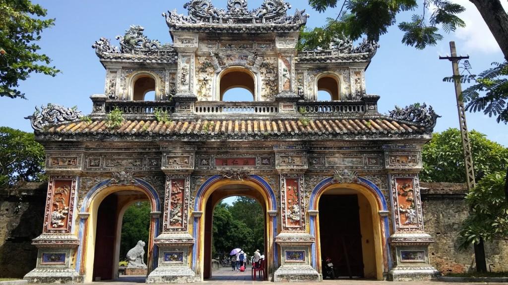 Puerta Chuong Duc, Ciudadela, Hué, Vietnam, 2015