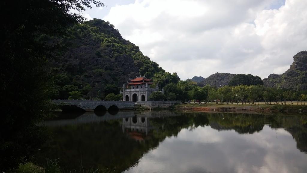 Puerta de entrada a Hoa Lu, Ninh binh, Vietnam, 2015
