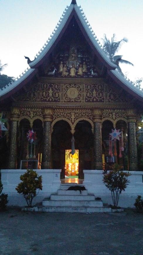 Templo Pha Phai donde medité con los monjes, Luang Prabang, Laos, 2015