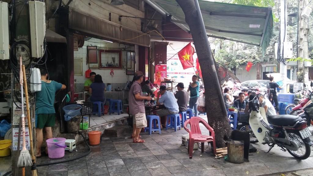 Una esquina cualquiera, Hanoi, Vietnam, 2015