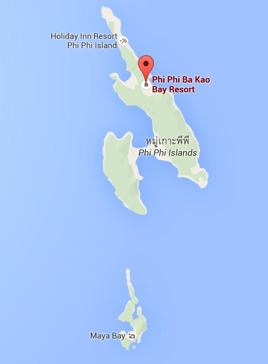 Ko Phi Phi yDon y Ko Phi Phi Leh, Krabi, Tailandia, 2015