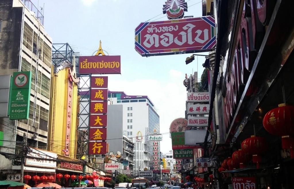 Barrio chino, Bangkok, Tailandia, 2015