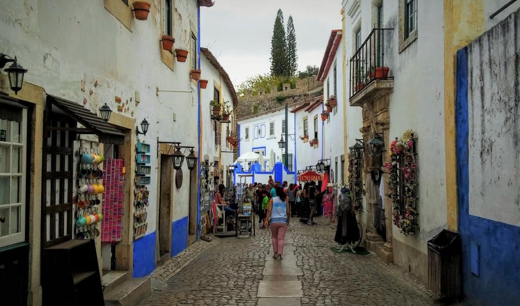 Callejeando por Óbidos, Portugal, 2015