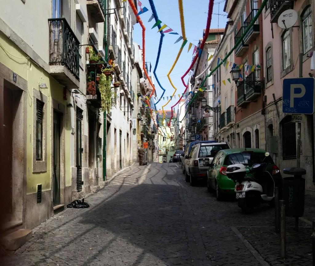 Callejeando por Lisboa, Portugal, 2015