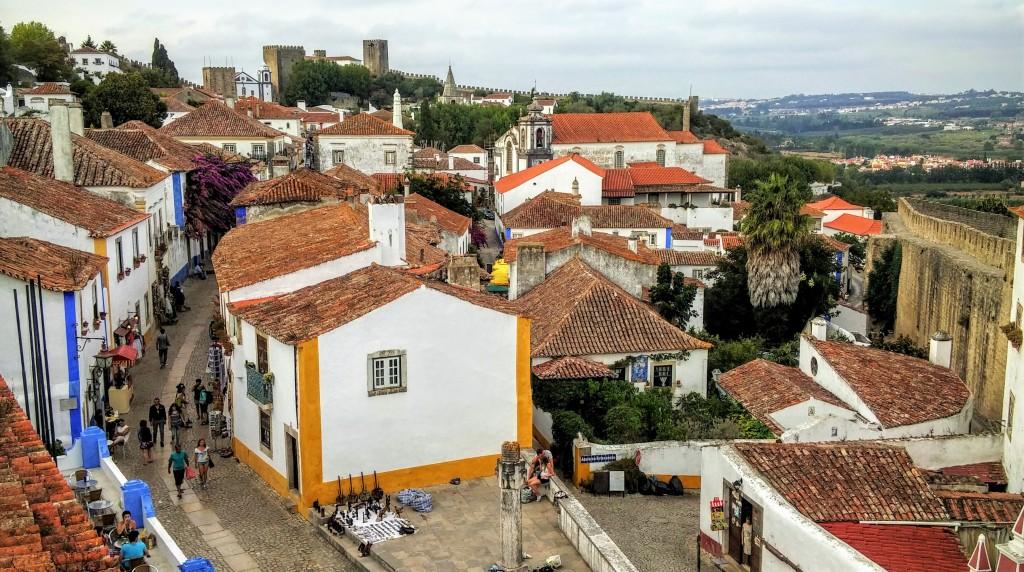 Casitas blancas de Óbidos, Portugal, 2015