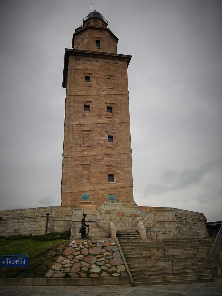Torre de Hércules, A Coruña, Galicia, España, 2008