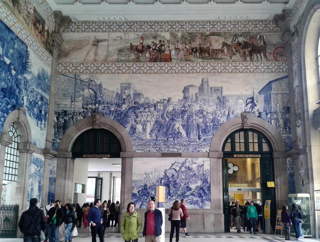 Estación de San Bento, Oporto, Portugal, 2014
