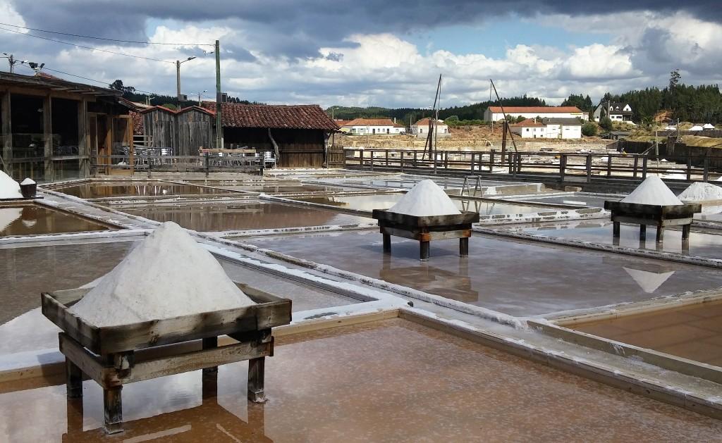 Montoncitos de sal, Salinas de Fonde da Bica, Portugal, 2015