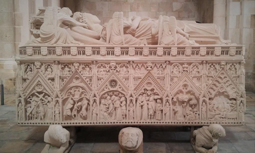 Sarcófago de Doña Inés, Monasterio de Alcobaça, Portugal, 2015