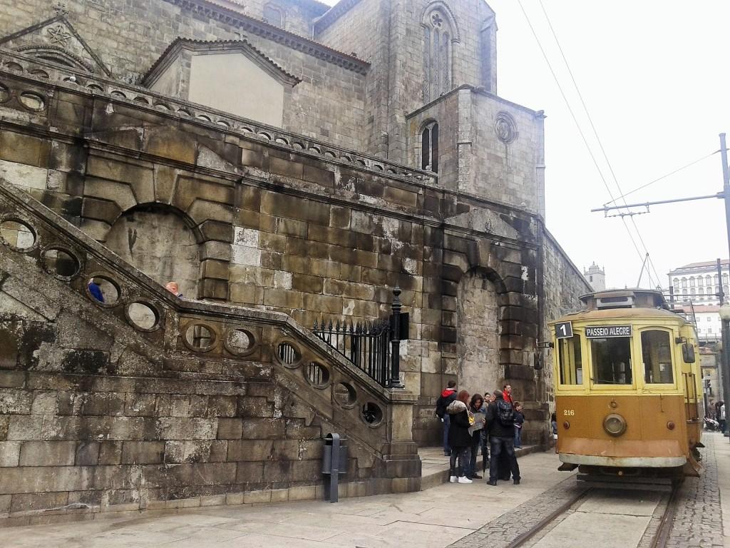 Tranvía de madera, Oporto, Portugal, 2014