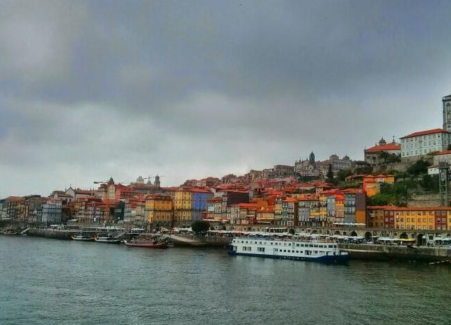 Vistas desde el río, Oporto, Portugal, 2014