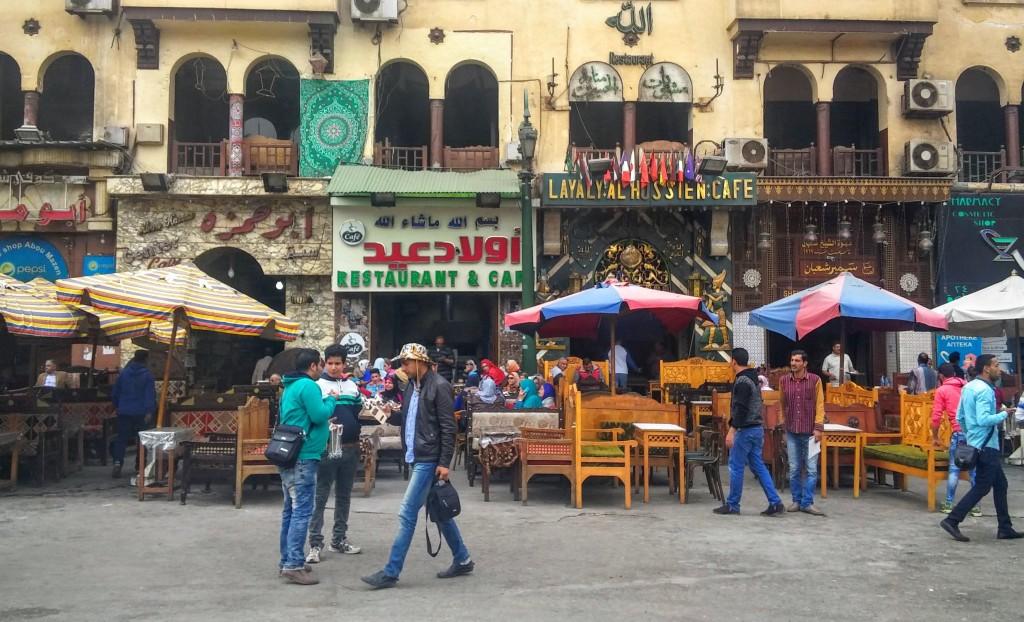 Alrededores del Bazar Khan el Kalili, El Cairo, Egipto, África, marzo 2016 | viajarcaminando.org
